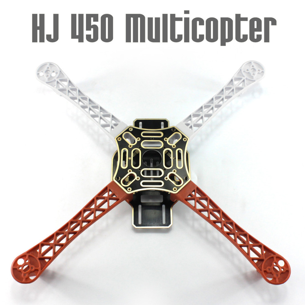 F450-V2 Aircraft Frame with PCB HJ 450 450F Nylon Flamewheel Frame Airframe kit HJ450 For DIY Drone Multicopter Quadcopter UFO