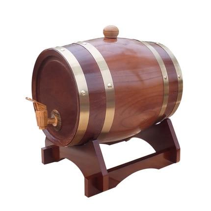 XXXG//oak Barrels 5L Barrels Of Wine Cask Wooden Barrels Stuffed Wine  Household Wine Storage Cask Wine Port Liquor Wood French In Bar Sets From  Home ...