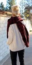 Wool Blend font b Tartan b font Plaid Soft Scarf Wrap Shawl Blanket Stole Pashmina Red