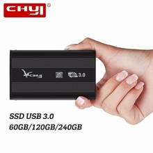CHUYI Newest External SSD USB3 0 Portable Hard Drive 60 120 240GB External Solid State Drives