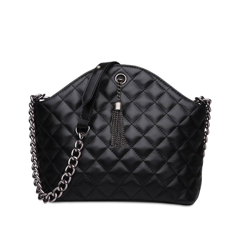2016 brand font b women b font shoulder bag ladies crossbody luxury handbags genuine leather handbag