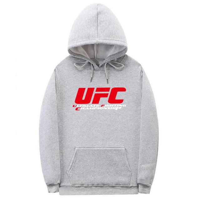 Letter Ultimate Fighting Championship Ufc Hoodies Sweatshirt Mens Women Fashion autumn winter  Hip Hop streetwear hoodies men