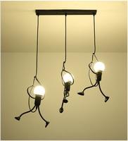 Industrial Lamp Modern Light Fixture Nordic Pendant Light Retro Pendant Lamp Metal Farmhouse Lighting Kitchen Island Lamps