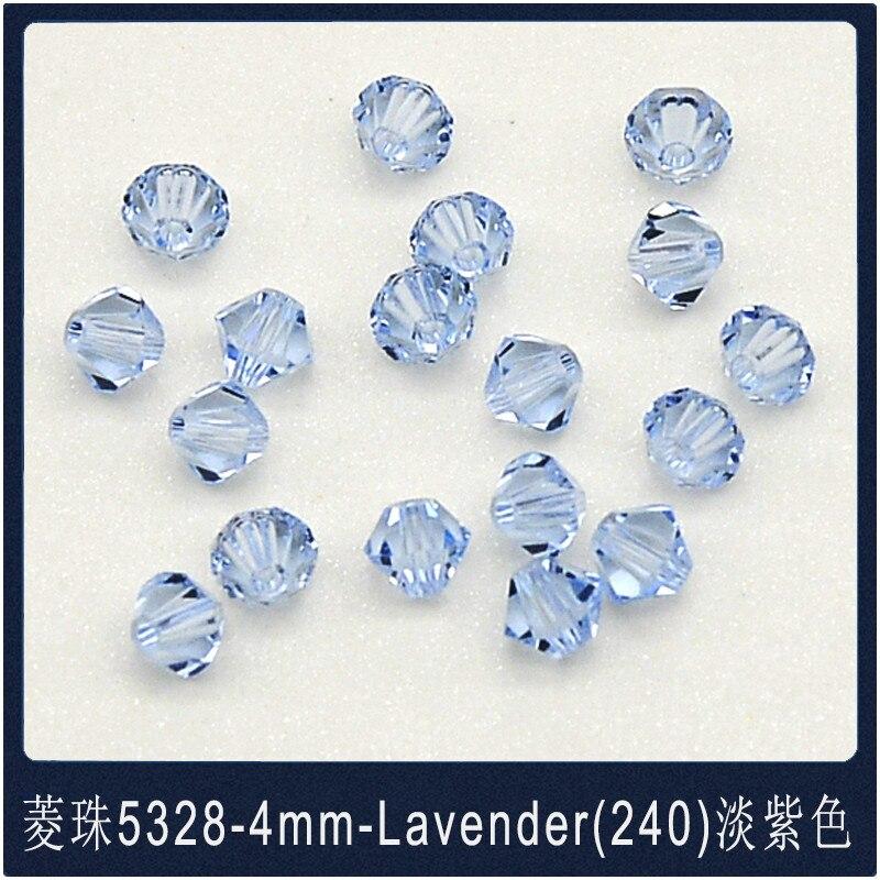 5328 30 Swarovski® Kristall Perlen Xilion Beads 4mm CAPRI BLUE Art