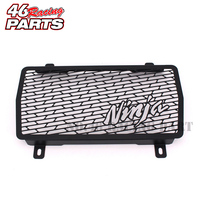 Black Motorcycle Accessories Radiator Guard For Kawasaki NINJA 250 300 Ninja250 Ninja300 Ninja 250R 300R Free