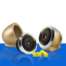2pcs Car Tweeter Aluminium Base Speaker Boxes Audio Tweeter Speakers Speaker Box Set Som Automotivo Auto Falantes Automotivo 2.5