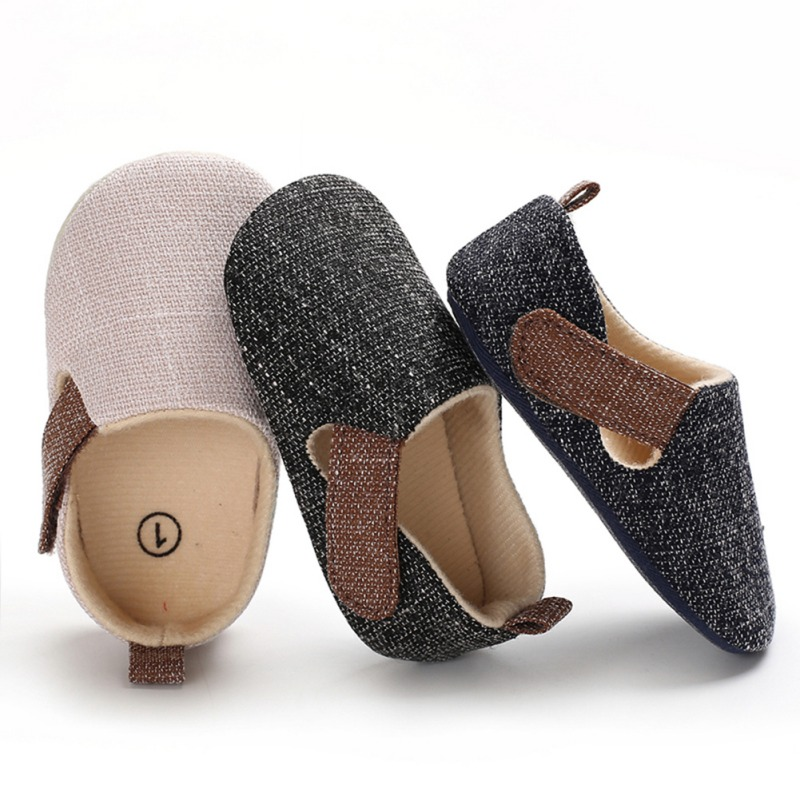 Newborn Baby Shoes Spring/autumn Canvas Leisure Baby Boy Shoes 2019 New Year Gift For Girls Shoes First Walkers