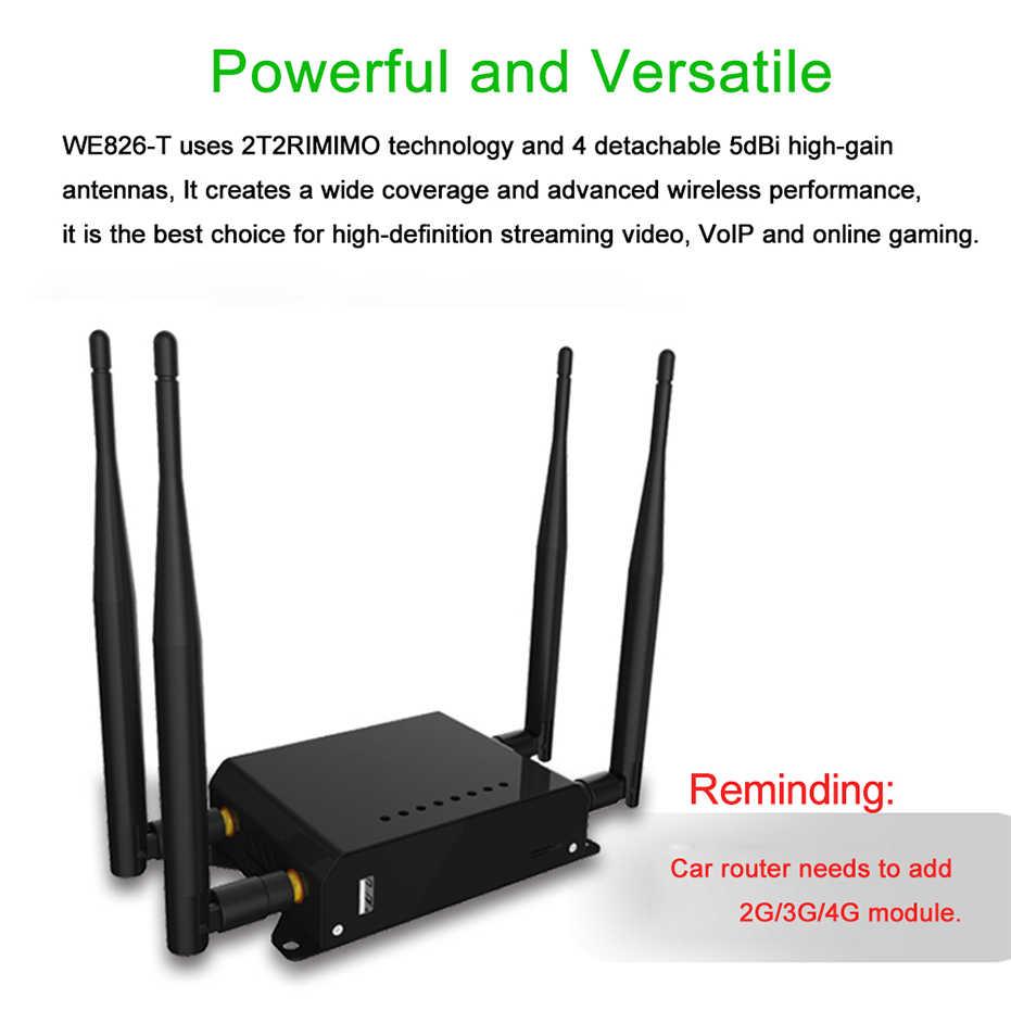 Cioswi 300Mbps 4G נייד נתב Wifi 3G 4G מודם עם כרטיס ה-sim חריץ רכב/אוטובוס wifi נתב 128MB RAM OpenWRT נתב Lte Wifi נתב