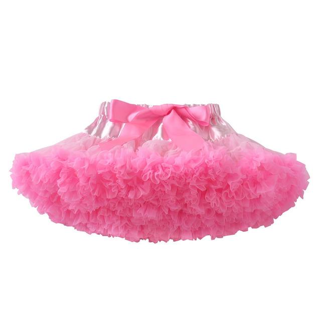 Faldas de moda Niños Arcos Chica Falda de Malla de Tres Capas Falda de La Princesa Del Bebé Falda de Baile Fiesta YD047