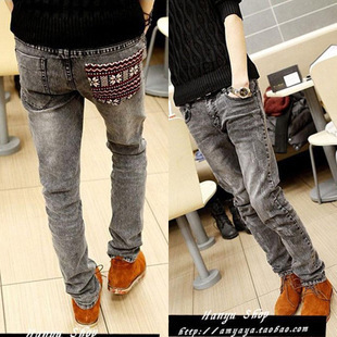 2016 New Arrival None Zipper Fly Slim Mid Softener Pencil Pants Lightweight Full Length Solid Pockets