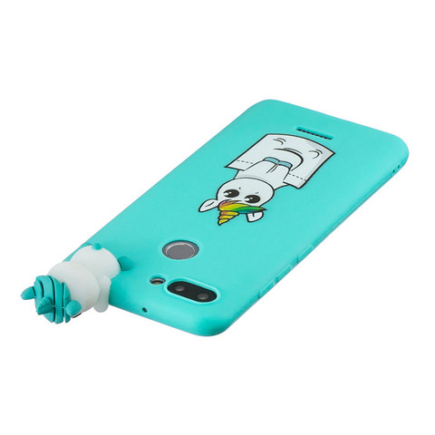 Redmi 6 Silicone Phone Case For Coque xiaomi Redmi 6 Case Cover for Fundas xiaomi Redmi 6A 6 A 3D Cartoon Doll Toys Unicorn Case Multan