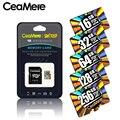 CeaMere メモリカード 256 ギガバイト 128 ギガバイト 64 ギガバイト U3 UHS-3 32 ギガバイトのマイクロ sd カード Class10 UHS-1 フラッシュカードメモリ Microsd TF/SD カードタブレット