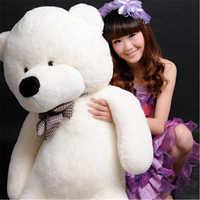 Kawaii 80 cm belle peluche animaux doux géant ours en peluche Urso Pelucia filles jouets décoration de mariage et d'anniversaire