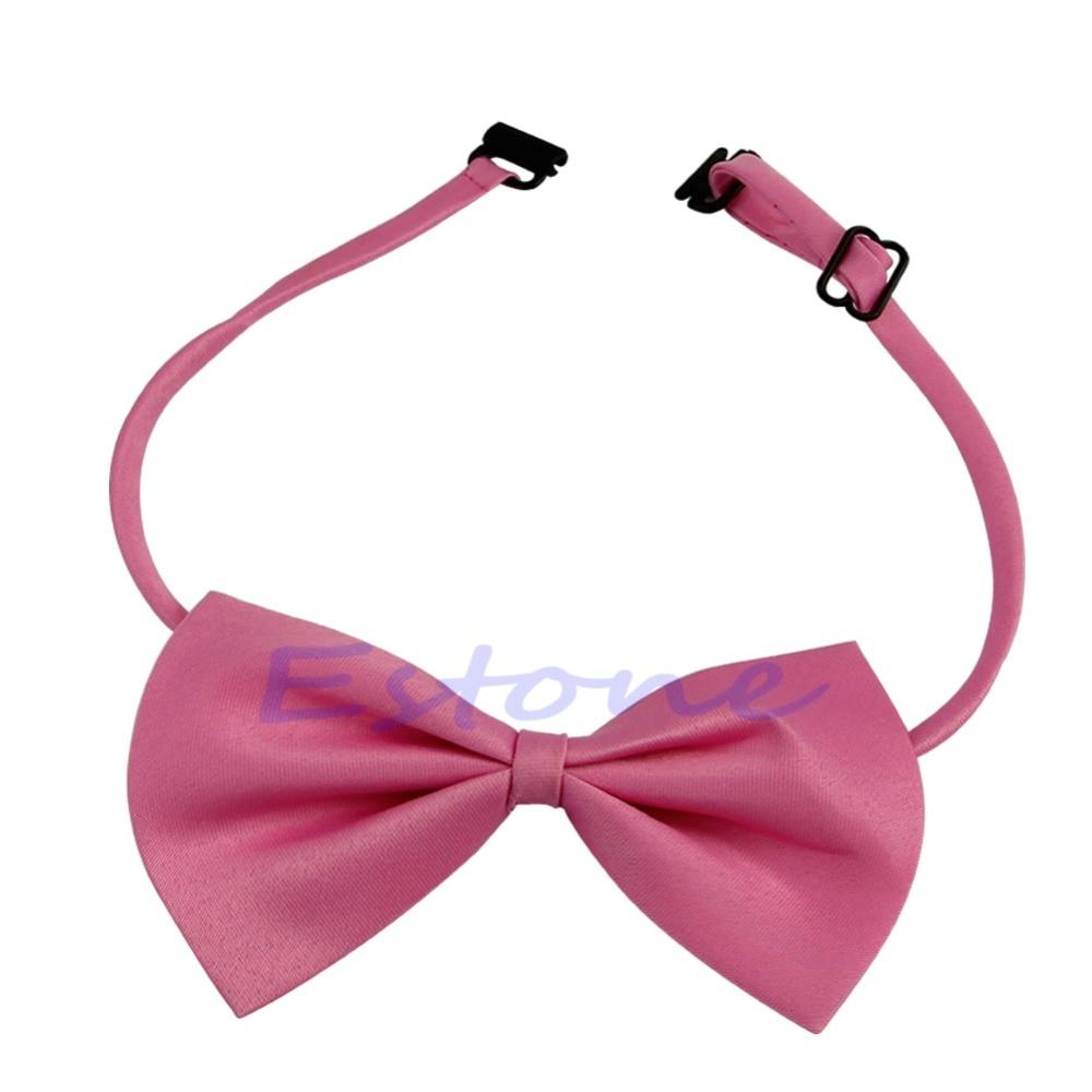 Wholesale Fashion Cute Child Chorus Perform Adult Student Bow Tie Necktie Collar Clothes 4