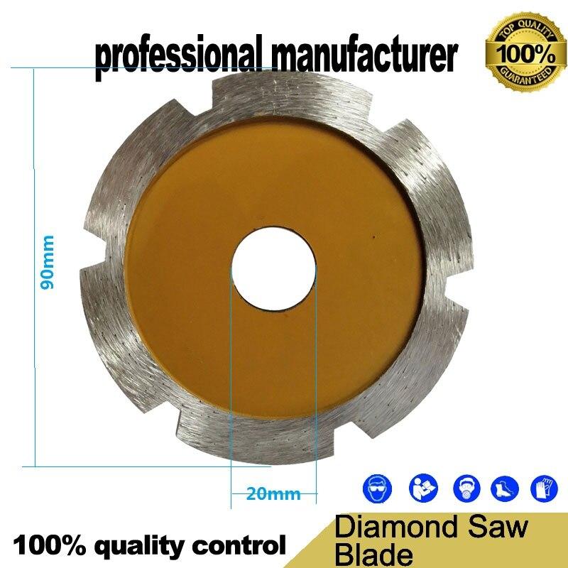 Sintered Diamond Saw Blade Diamond Circular Blade Angle Polishing Tools Saw  Grooving Machine For Concrete Stone Wall Tiles
