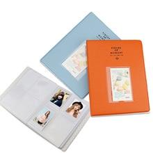 цена на 128 Pockets Mini Photo Album Fotoalbum Scrapbook for Fujifilm Instax Mini 9 8 Film 3 Inch Photo PU Fotos Scrapbooking Foto Album