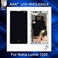 Para Nokia Lumia 1020 LCD Display + Touch Screen digitador com montagem bastidor + ferramentas gratuitas