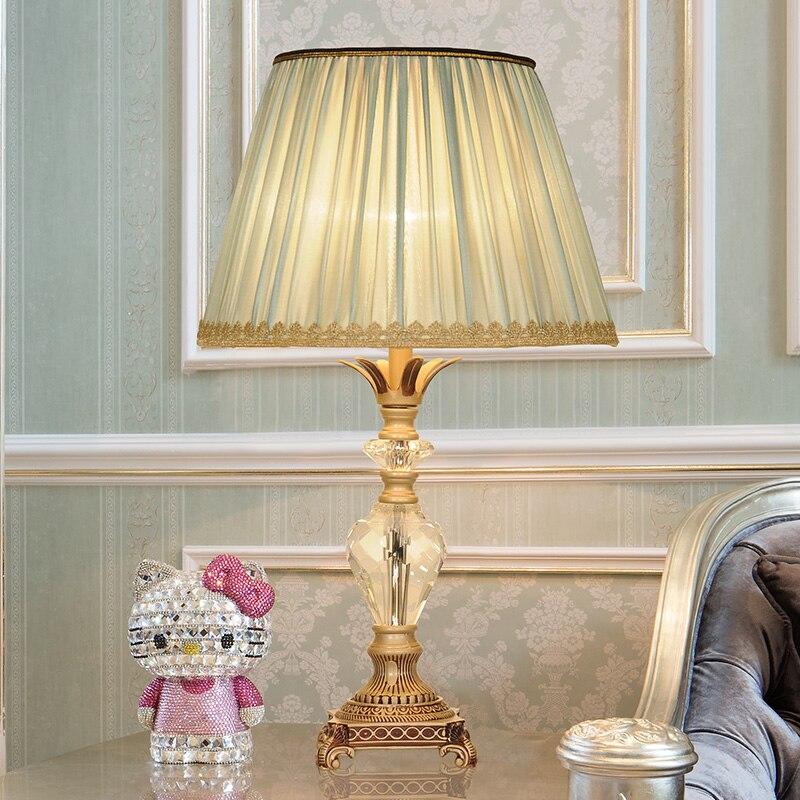 Led Lamps Lights & Lighting Hot Sale K9 Crystal Table Lamps For Home Bedside Bedroom Night Lights Led Gold Table Lights