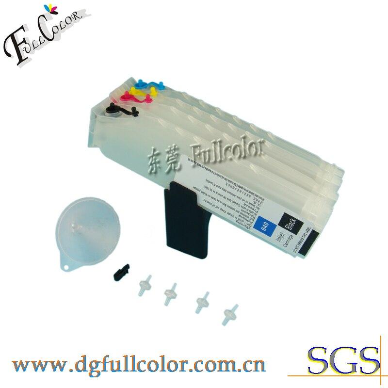 Freies verschiffen! lange Nachfüllbare tintenpatrone für HP officejet Pro K5400 Tintenstrahldrucker Patrone...