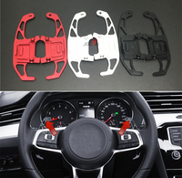 Car Metal Steering Wheel Paddle Shifter For VW GOLF GTI R GTD GTE MK7 7 POLO GTI Scirocco 2014 2018 Replacement