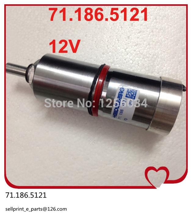 1 piece motor for SM102 and CD102 machine, heidelberg Ink fountain roller adjustment motor 71.186.5121 heidelberg sm102 cd102 cleaning ink roller cylinder 61 184 1111