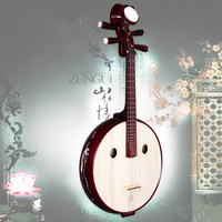 Китайские традиционные музыкальные инструменты Ruan Moon гитары платан дерево материал