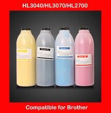compatible for brother HL3040 HL3070 HL2700 refill color toner CMYK high quality color toner powder