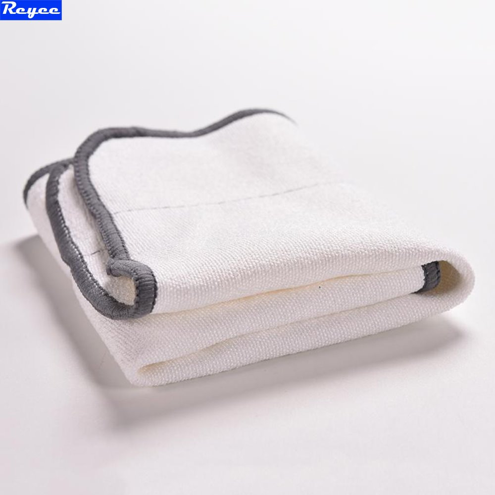 New Practical 1PC Microfiber Dry Dweeping Mopping Cloths For iRobot Braava 380t 320 Mint 4200 5200 Robotic Resuable Home Cleaner new 3pcs deep clean blue microfiber replacement washable wet mopping pads for braava jet 240 cleaner