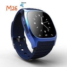 NEUE M26 Bluetooth Smart Uhr Luxus Armbanduhr R Uhr Smartwatch mit Zifferblatt SMS Erinnern Pedometer für Android Samsung Telefon