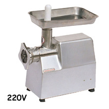 220V Stainless Steel Meat Grinder Family Use Meat Making Machine Mincer with English Manual TJ22A