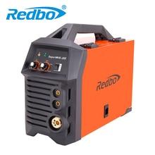 Новинка 2017 года срок годности redbo миг Mag-205 220 В инверторов IGBT Co2 газах МиГ сварочный аппарат