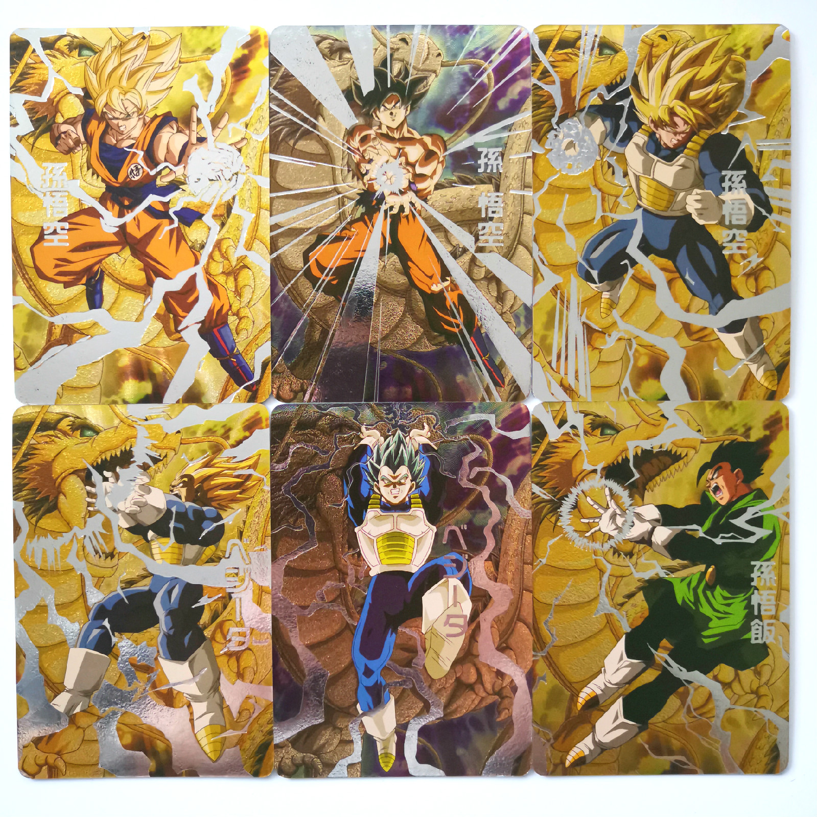 32pcs Super Dragon Ball Z Only 20 Sets Heroes Battle Card Gogeta Ultra Instinct Goku Vegeta Game Collection Anime Cards
