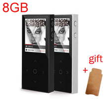 Original BENJIE X1 HIFI Lossless MP3 Player 8G Touch Screen Key MP3 Music Player Sport Recorder E-Book Video Player With Case