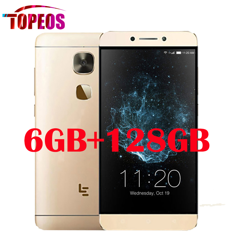 Original LeEco Letv Le Max 2 X829 Mobile Phone 5.7 inch Qualcomm Snapdragon 820 4GB RAM+64GB ROM 21.0MP+8.0MP 4G LTE 2560*1440