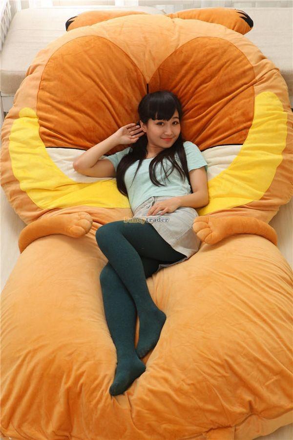 Fancytrader 220cm X 150cm Soft Giant Cute Garfield Cat Bed Carpet Tatami Mattess Sofa, FT50322 (18)