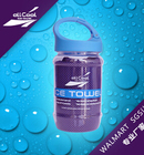 New Hot All Cool Ice Towel 100*30cm Bottle Pack Cold Towel Summer Sports Ice Cool Towel PVA Hypothermia Cooling Towel Blue