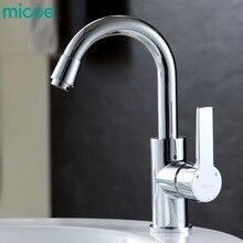 Micoe heißes und kaltes wasser küchenarmatur mixer einhand einlochmontage modernen stil chrome leitungswasser 360 swivel Multi-functionM-HC100
