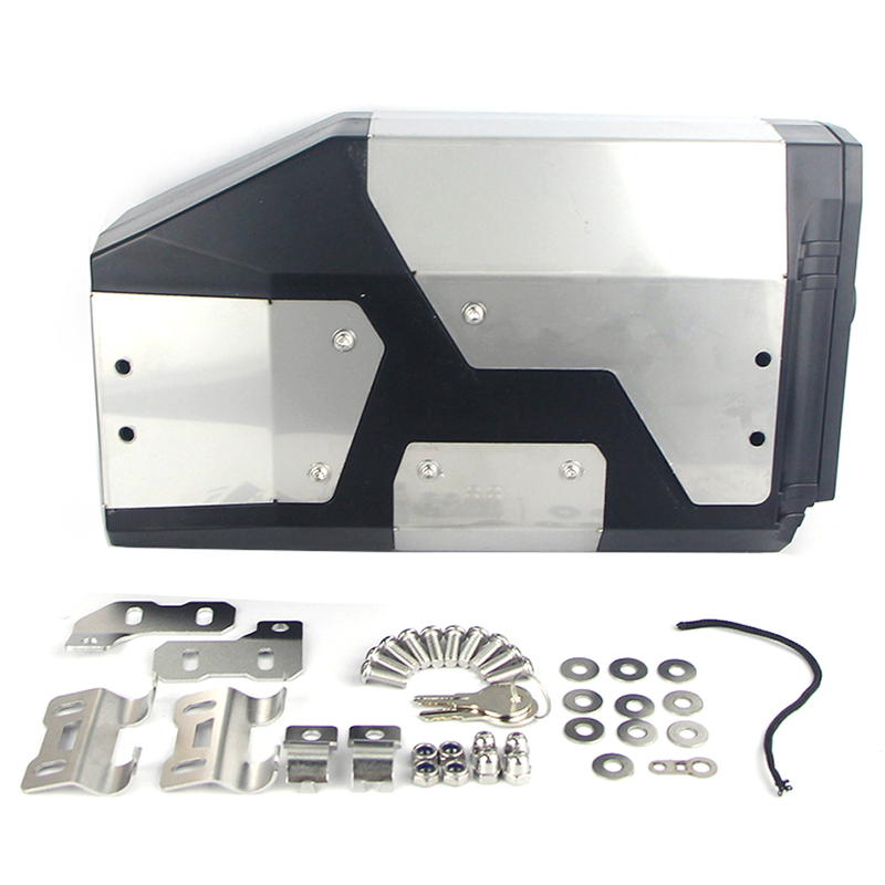 Для Bmw R1200Gs Lc Adventure 2013- R1200Gs декоративная алюминиевая коробка Toolbox Подходит для Bmw боковой кронштейн 4,2 литров