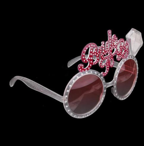 Bride To Be Glasses Hen Night single Party Accessories Fancy Dress Creative Novelty Bling Pink Glasses wedding event hot gift