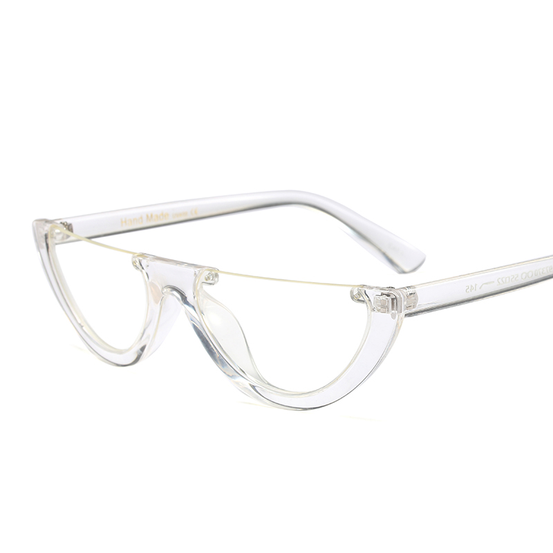 a2580f55e1060 Peekaboo black vintage cat eye glasses frame clear fashion flat top  transparent eyeglasses small frame women female-in Eyewear Frames from  Women s Clothing ...