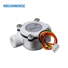 цена на NBSANMINSE SMFS402C Water Flow Sensor G3/8 For water heater water dispenser coffee makerPLC flowmeter  interface