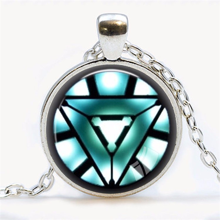 Awesome Iron Man Arc Reactor Necklace green