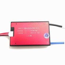 3 S 12 В 10A 15A 25A 35A 45A 60A BMS батарея управление системы PCM PCB для 18650 литий ионный батарея пакет с балансом