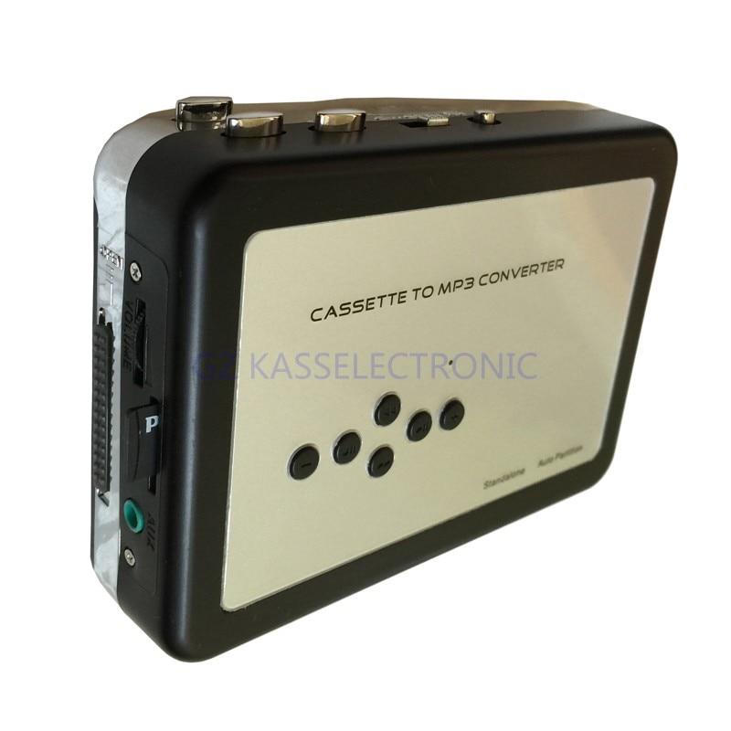 2017 nouveau convertisseur de lecteur de cassette mp3 convertte la bande cassette en mp3 dans la carte TF aucun pc requis Livraison gratuite