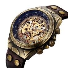 الرجال حزام ساعة حقيقية