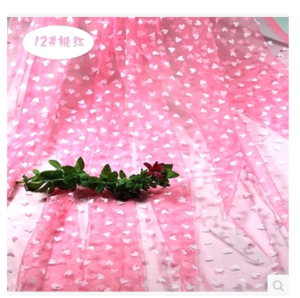 gratis verzending massaal liefde flexibele garen stof gordijn maken ongevoerd kledingstuk rok stof 2 meter in gratis verzending massaal liefde flexibele