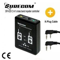 Contrôleur de répéteur Duplex 2 en 1 SURECOM SR-629 avec câble de talkie-walkie
