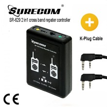 HOT Product SURECOM SR 629 2 in 1 Duplex Repeater Controller with walkie talkie Cable
