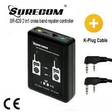 Producto en oferta, SURECOM SR 629, 2 en 1, controlador repetidor dúplex con Cable walkie talkie