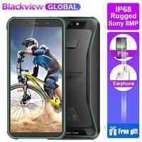 "Blackview BV5500 IP68 Waterproof Rugged Smartphone 2GB+16GB 5.5"" 18:9 Screen 4400mAh Android 8.1 3G Mobile Phone GPS"